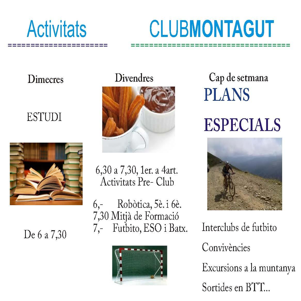 Activitats 2015